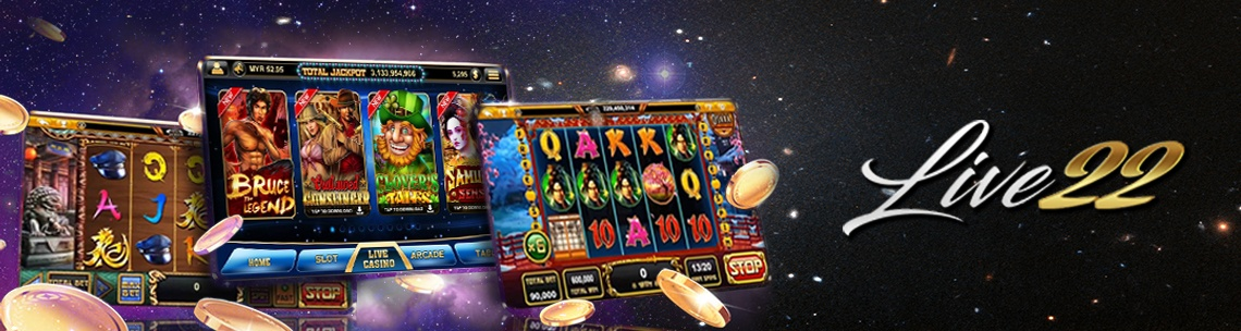 Slot Machine Banner