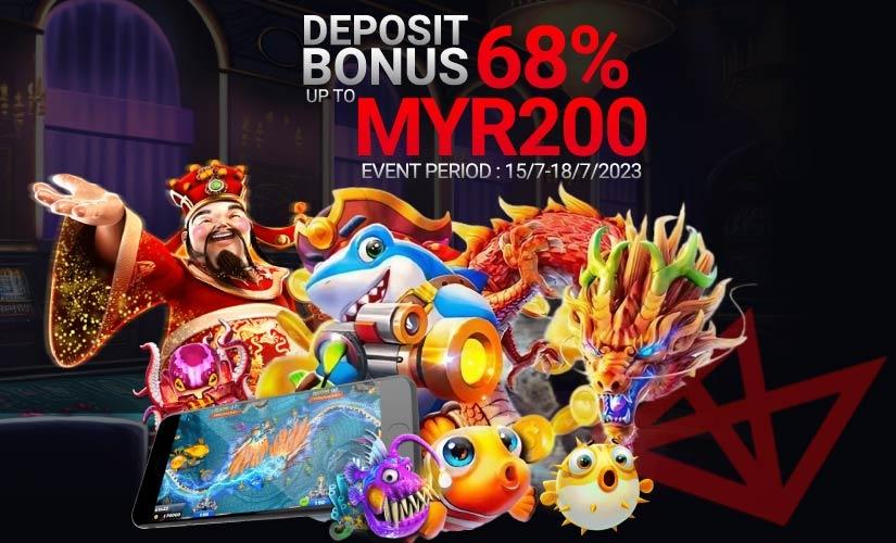 Bonus wang tunai kasino sebenar tanpa deposit